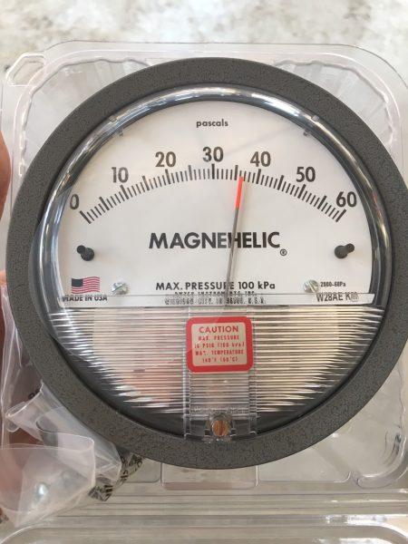 Đồng hồ đo chênh áp 2000-60Pa
