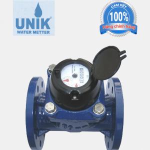 Đồng hồ nước UniK DN80 lắp bích