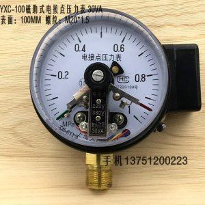 Đồng hồ áp suất 3 kim 0-1 MPA