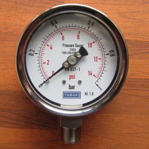 Đồng hồ đo áp lực nước Yamaki Đài Loan