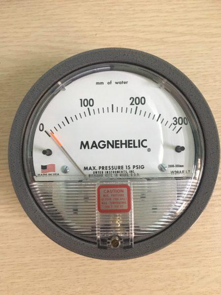 Đồng hồ đo chênh áp 2000-300mmH2O