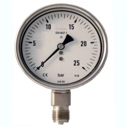 Đồng hồ đo áp suất 0-160 bar