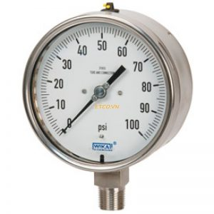 Đồng hồ áp suất inox toàn bộ