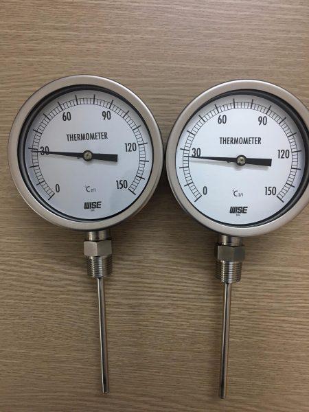 Đồng hồ đo nhiệt độ chân đứng 150oC