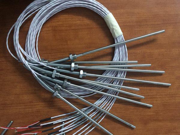 Can nhiệt inox PT100 dạng dây