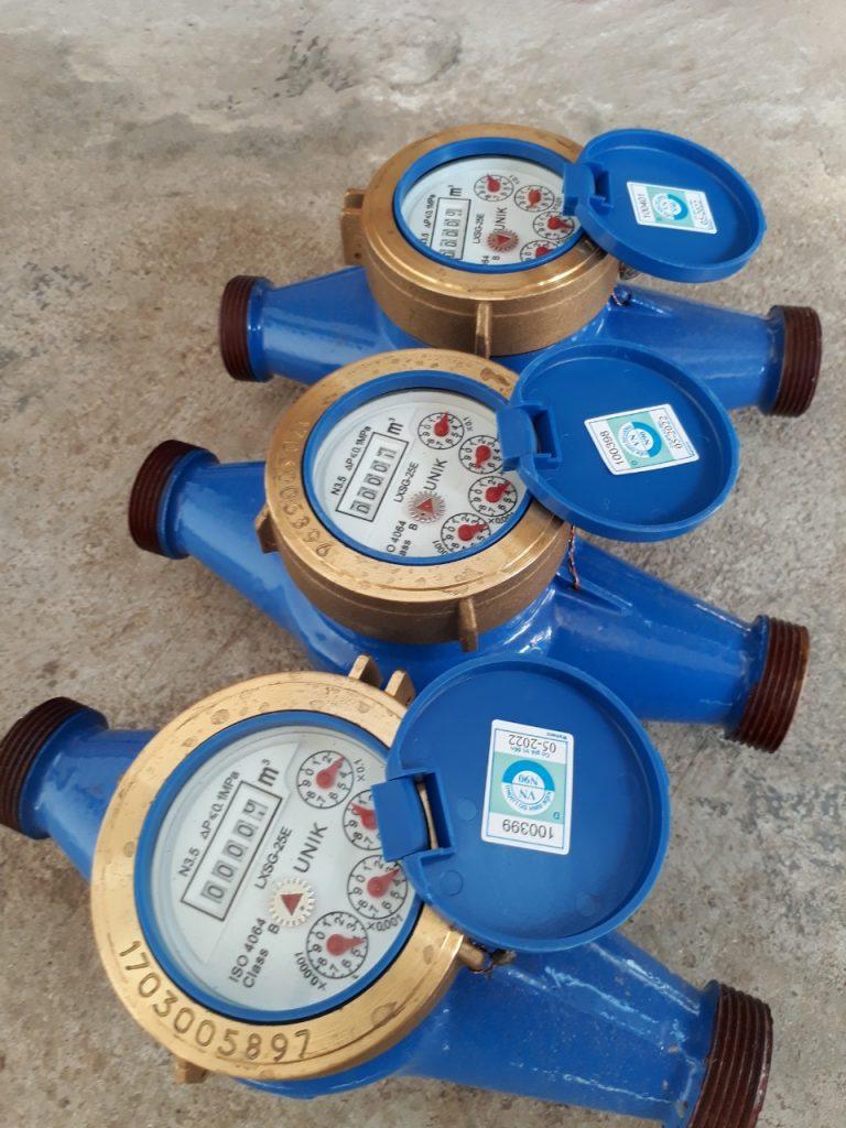 Đồng hồ nước UNIK Dn25 lắp ren