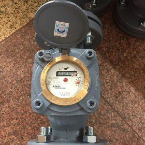 Đồng hồ nước Asahi lắp bích