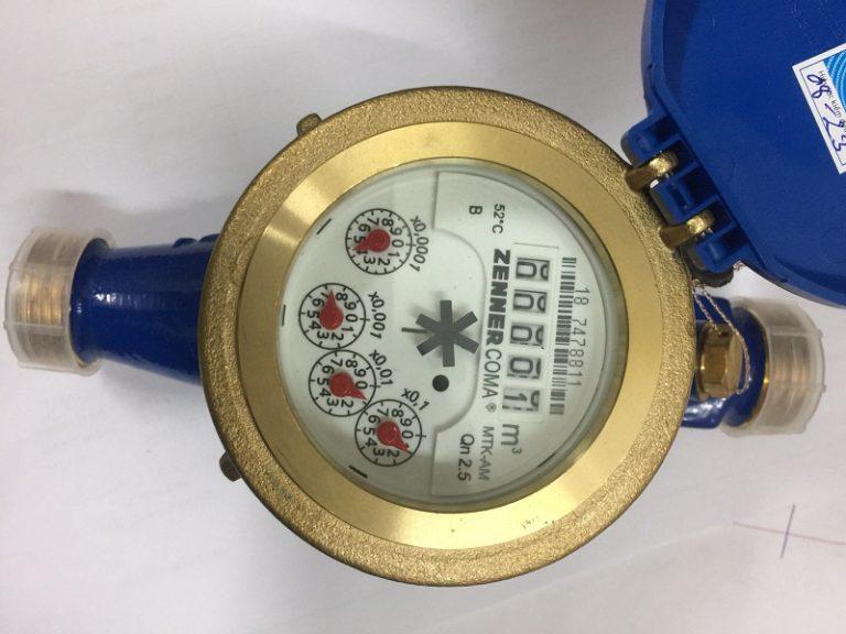 Đồng hồ nước hiệu Zenner MTK-AM DN20