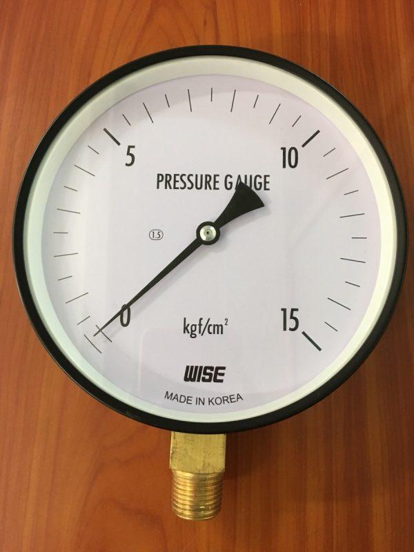Đồng hồ đo áp suất wise 16 bar