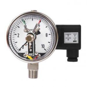 Đồng hồ áp suất 3 kim chân đứng