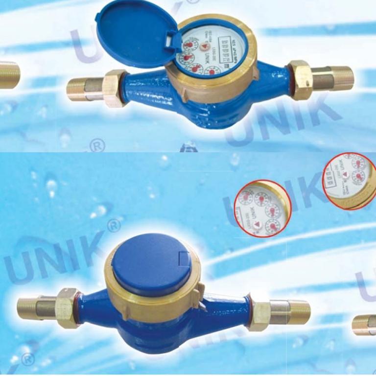 Đồng hồ nước Unik nối ren DN15