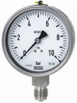 Đồng hồ đo áp suất wika 10 bar 232.50