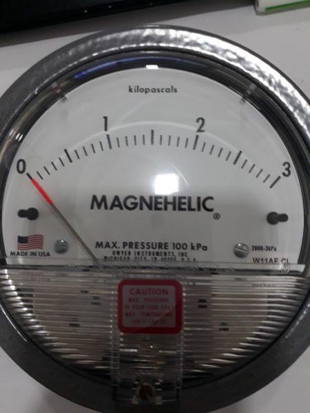 Đồng hồ đo chênh áp 3KPA