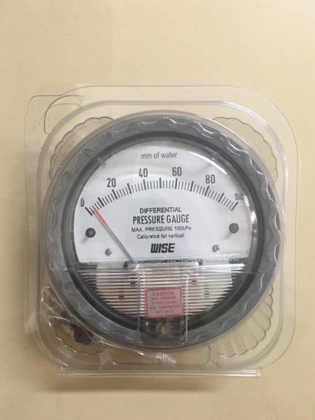 Đồng hồ đo chênh áp Wise 0-100mmH20