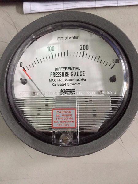 Đồng hồ đo chênh áp Wise 0-300mmH20