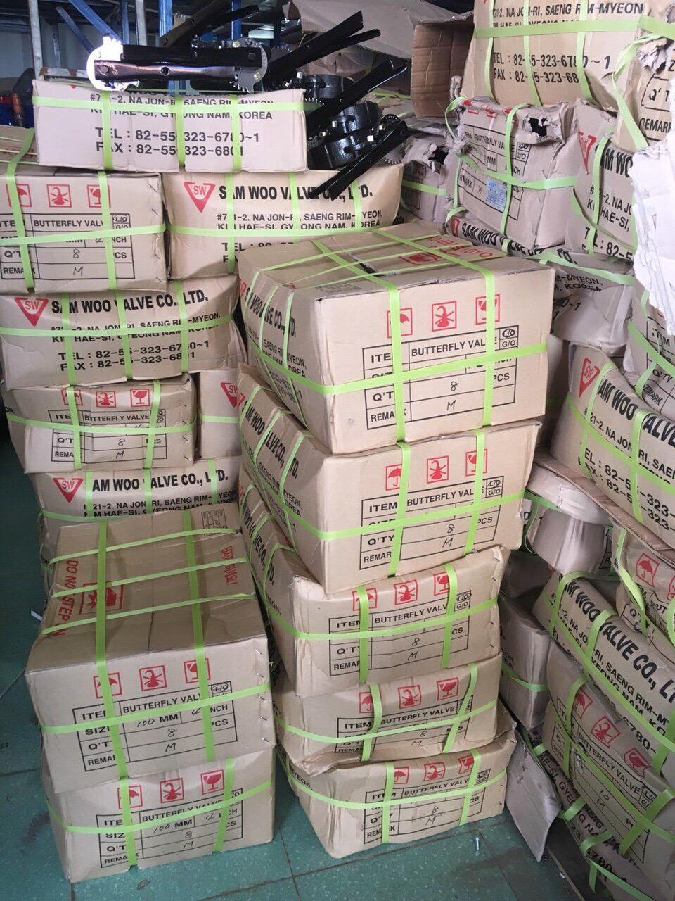 Van bướm tay gạt SW hàng luôn có sẵn đầy đủ các sezi, Hàng chính hãng SW Hàn Quốc