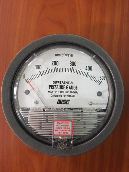 Đồng hồ đo chênh áp Wise 0-500mmH20