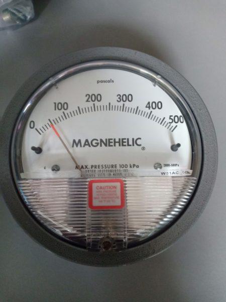 Đồng hồ đo chênh áp 500PA