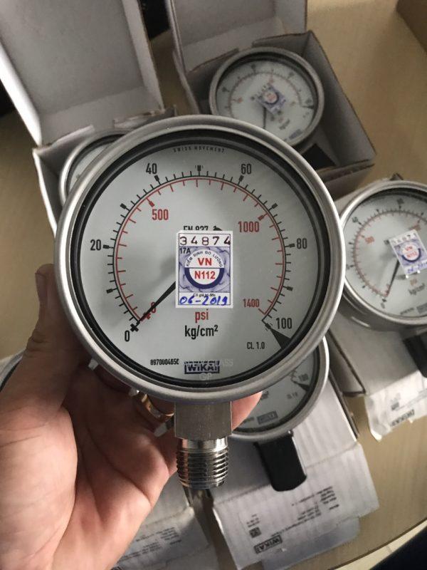 Đồng hồ áp suất wika 232.50
