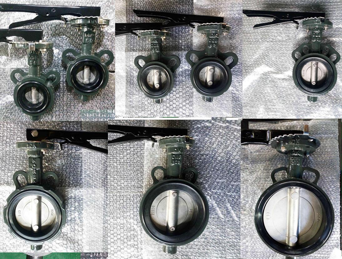 Van bướm tay gạt Samwoo Hàn Quốc lắp bích JIS10K
