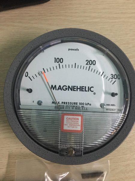 Đồng hồ đo chênh áp 2000 - 300Pa