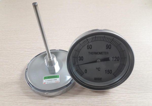 Đồng hồ nhiêt độ chân sau vuông góc 0-150oC