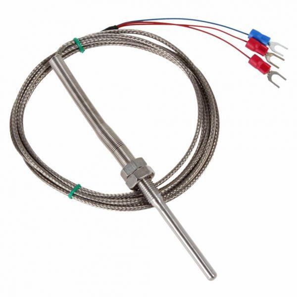 Cảm biến nhiệt PT100 dạng dây loại 3 đầu nối