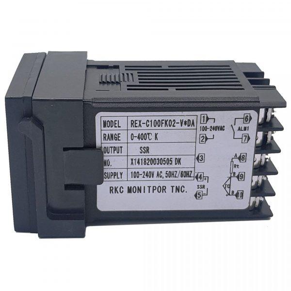 Đồng hồ nhiệt REX C100