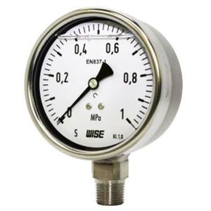 Đồng hồ áp suất dầu chân đứng